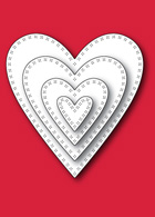 30028 Cross Stitch My Heart craft dies