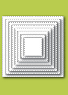 30038 Stitched Square Layers craft dies