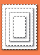 30052 Postage Rectangle Layers craft dies
