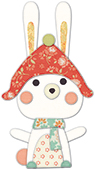 30097 Snow Bunny deep edge craft die