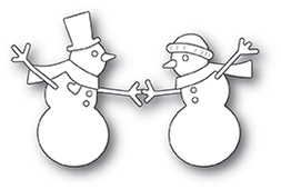30115 Dancing Snowmen craft die