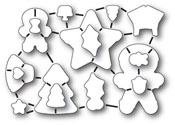 32183 Frosted Christmas Die Set