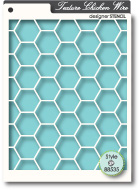 88535 Chicken Wire stencil