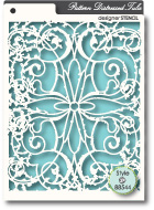 88544 Distressed Tula stencil