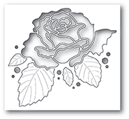 94004 Rose Bloom Collage craft die