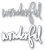 94007 Wonderful Jotted Script craft die