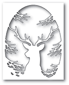 94020 Pine Tree Deer Collage craft die