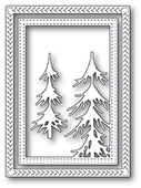 94036 Pine Forest Frame craft die