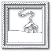 94042 Family Cabin Frame craft die