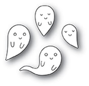 94086 Friendly Ghosts craft die
