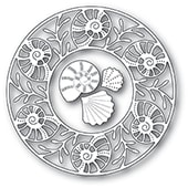 94225 Seashell Circle Frame craft die