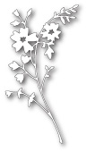98333 Honeyblossom Sprig craft dies