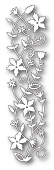 98473 Fairytale Flower Border craft dies