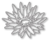 99099 Blooming Lotus Outline craft dies