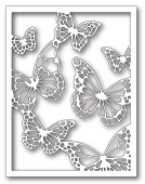 99138 Floating Butterfly Frame craft dies