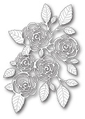 99139 English Rose Bouquet craft dies