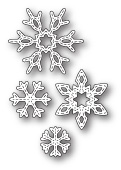 99277 Twilight Snowflakes craft dies