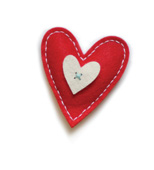 99302 Plush Bright Heart craft die