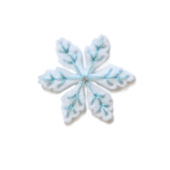 99307 Plush Mountain Snowflake craft die