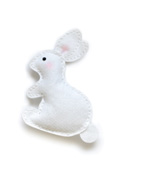 99322 Plush Spring Bunny craft die