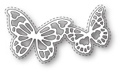 99333 Calais Butterflies craft die