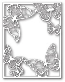 99343 Drifting Butterfly Frame craft die