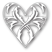 99348 Enchanted Heart craft die