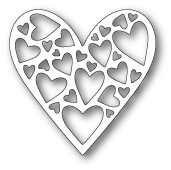 99352 Tender Heart craft die