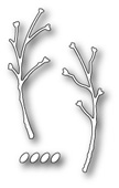 99375 Viburnum Seed Branches craft die
