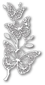99387 Colette Butterfly Branch craft die