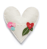 99409 Plush Heart Pocket craft die