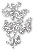 99411 Marielle Butterflies craft die
