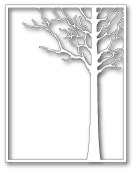 99413 Forest Tree Frame craft die