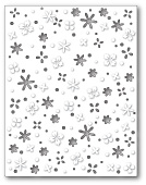 99415 Flower Meadow Background craft die