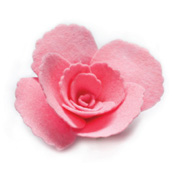 99423 Plush Ruffled Rose craft die