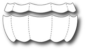 99457 Quilted Balloon Stripes craft die