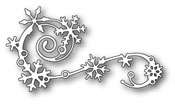 99477 Elegant Snowflake Flourish craft die