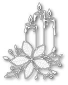 99484 Poinsettia Candles craft die