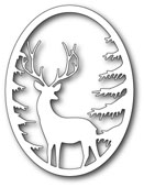 99493 Grand Stag Oval Frame craft die
