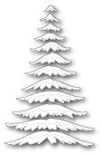 99496 Marvelous Pine Snowy Branches craft die
