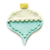 99510 Plush Pointed Ornament craft die