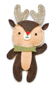 99515 Plush Cute Reindeer craft die