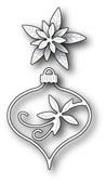 99549 Fanciful Poinsettia Ornament craft die