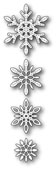 99556 Delicate Stitched Snowflakes craft die
