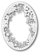 99577 Dancing Snowflake Oval craft die