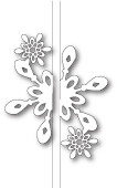 99586 Bright Snowflake Closer craft die