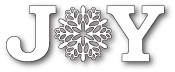 99596 Snowflake Joy craft die