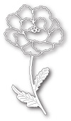 99619 Blooming Peony Stem craft die
