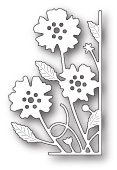 99632 Small Antilles Floral Right Corner craft die