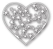 99667 Rivington Heart craft die